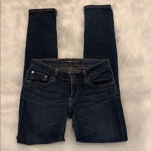 Big Star Sweet Skinny Ultra Low Rise Jeans Sz 27R